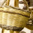 Basket handcraft mediterraneIbizBalearic — Stock Photo #5711351