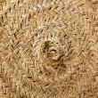 Stock Photo: Esparto round handcraft basketry circle Spain