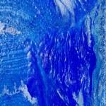 mavi boya soyut doku arka plan — Stok fotoğraf