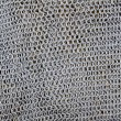 Antique knight metal sword protection net pattern - Stock Photo