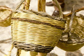 Basket handcraft mediterranean Ibiza Balearic — Stock Photo