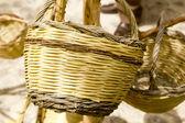 Basket handcraft mediterranean Ibiza Balearic — Stock Photo