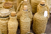 Esparto fles handcrafts mediterrane ambachten — Stockfoto
