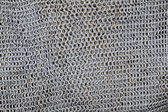 Antique knight metal sword protection net pattern — Stock Photo