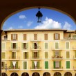 Majorca Plaza Mayor in Palma de Mallorca — Stock Photo