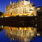 Cathedral of Majorca in Palma de Mallorca Balearic islands — Stock Photo #6132786