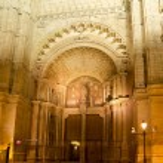 Cathedral of Majorca in Palma de Mallorca night — Stock Photo