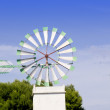 Stock Photo: Majorca white windmill in Palma de Mallorca