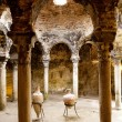 Arab baths in Majorca old city of Barrio Calatrava Los Patios — Stock Photo