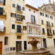 Plaza placa sant Jeroni Majorca in Palma de Mallorca — Stock Photo