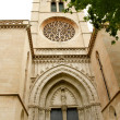 Stock Photo: Church of SantEulaliMajorcin Palmde Mallorca
