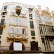 Majorca Placa Plaza Marques de Palmer modernist building — Stock Photo