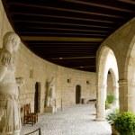 Castle Castillo de Bellver in Majorca at Palma de Mallorca — Stock Photo