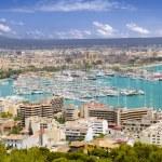 City of Palma de Mallorca in Majorca Balearic island — Stock Photo