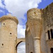 Castle Castillo de Bellver in Majorca at Palma of Mallorca - Foto Stock