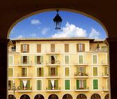 Majorca Plaza Mayor in Palma de Mallorca — Stock Photo