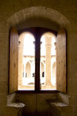 Arch in Majorca Bellver Castle at Palma de Mallorca — Stock Photo