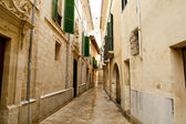 Barrio Calatrava Los Patios in Majorca at Palma — Stock Photo
