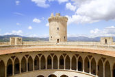 Castle Castillo de Bellver in Majorca at Palma of Mallorca — Stockfoto