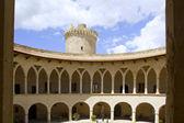 Slottet castillo de bellver i mallorca på palma mallorca — Stockfoto