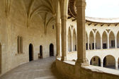Castle Castillo de Bellver in Majorca at Palma of Mallorca — Stock Photo