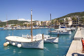 Andratx port marina in Mallorca balearic islands — Stock Photo