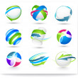 Сollection of color elements — Stock Vector #5545453