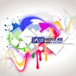 Colour background — Stock Vector #5846981