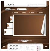 Conception de site web — Vecteur