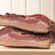 Stock Photo: Smoked bacon
