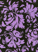 Fabric with Floral Pattern — Stock Photo