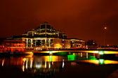 Dublin by night — Stock Photo