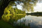 Lake in Ketrzyn — Stock Photo