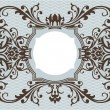 Stock Vector: Abstract ornamental frame