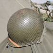 American military helmet — Stock Photo