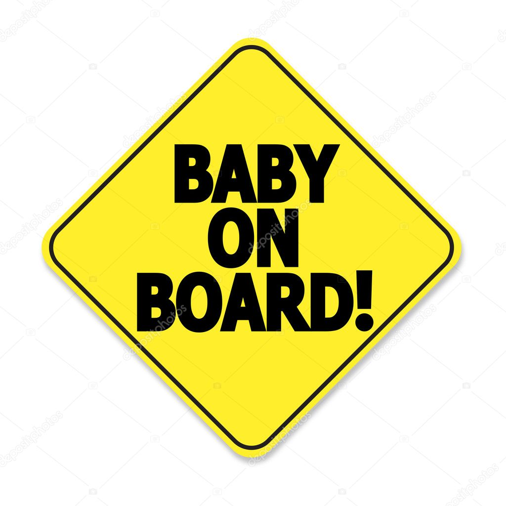 clipart baby on board-#2