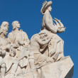 The Padrao dos Descobrimentos in Lisbon ,Portugal - Stock Photo