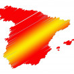 Spain map — Stock Photo