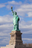 The Statue of Liberty in New York City. — Stock Photo