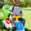 Cute Little african american baby boy playing — Stock Photo #6437732
