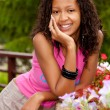 Beautiful african american woman — Foto Stock