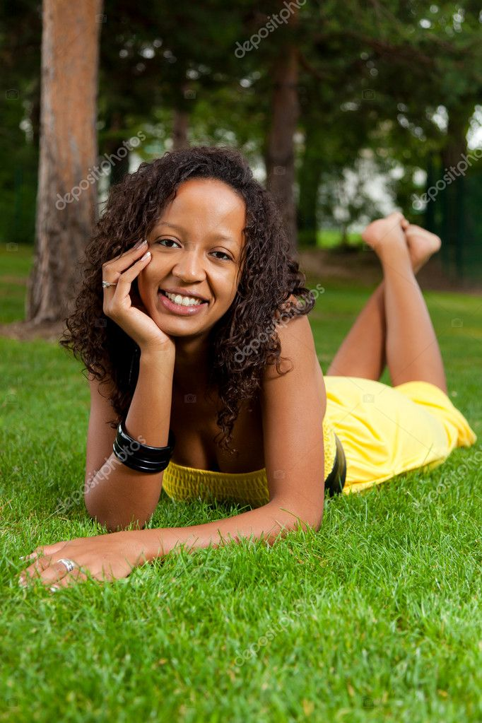 laying down pics of naked of black girls