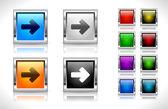 кнопки для веб-сайтов. вектор. — Cтоковый вектор