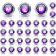 Royalty-Free Stock Vector Image: Buttons for web. Vector.