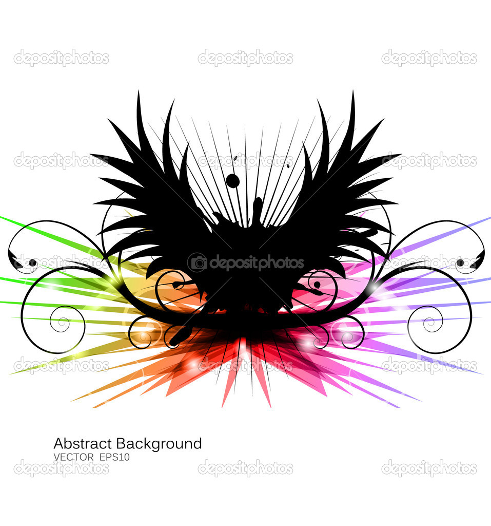 Eps10 vector abstract futuristic design  Stock Vector #5459528