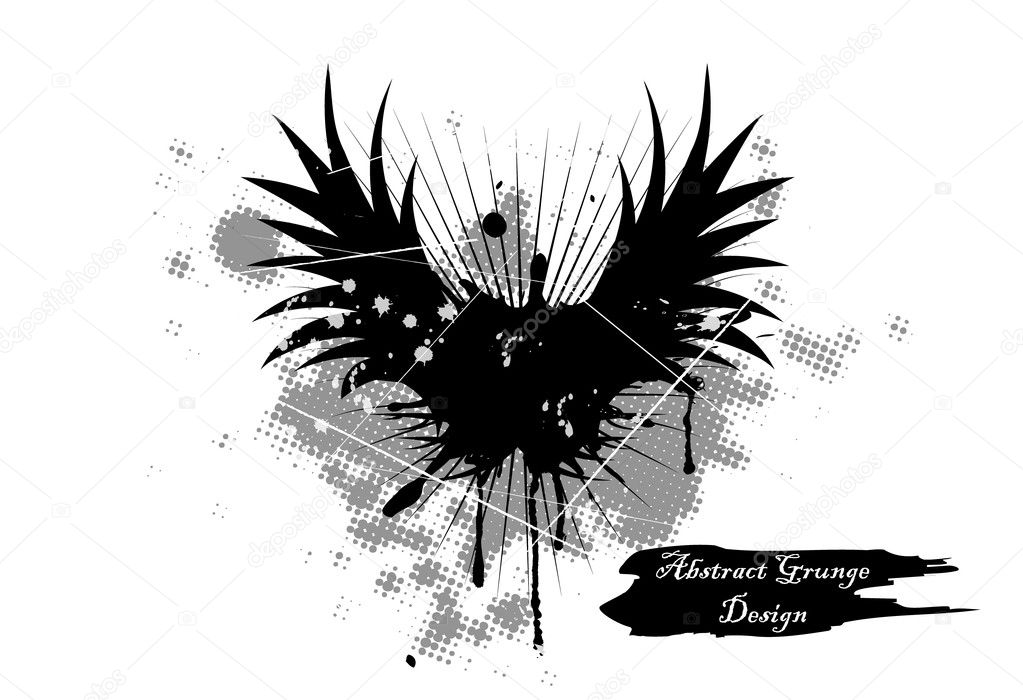Vector illustration of abstract grunge background — Stock Vector #5459555