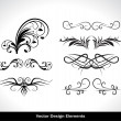 Vector set of design elements - Image vectorielle