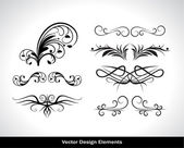 Vector set di elementi di design — Vettoriale Stock