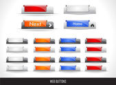 Web buttons pack — Vecteur