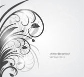 Abstract floral background — Vetor de Stock